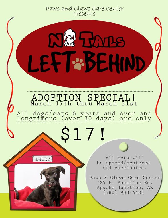 No-Tails-left-Behind Adoption Event