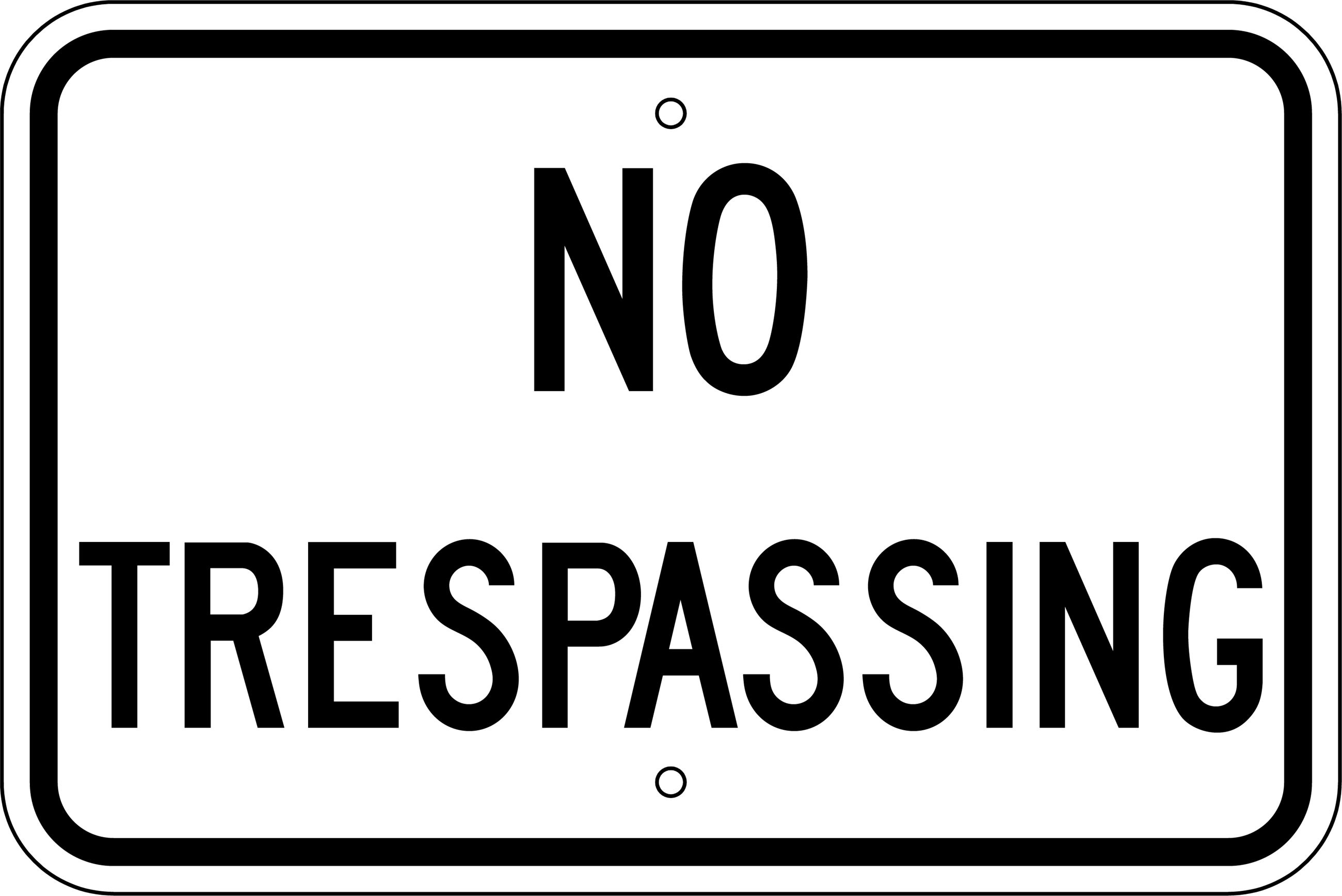 G-37_NoTrespassingStockSign