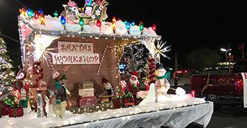 Holiday Program and Light Parade