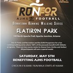 I RUN 4 Football flyer- Full Color