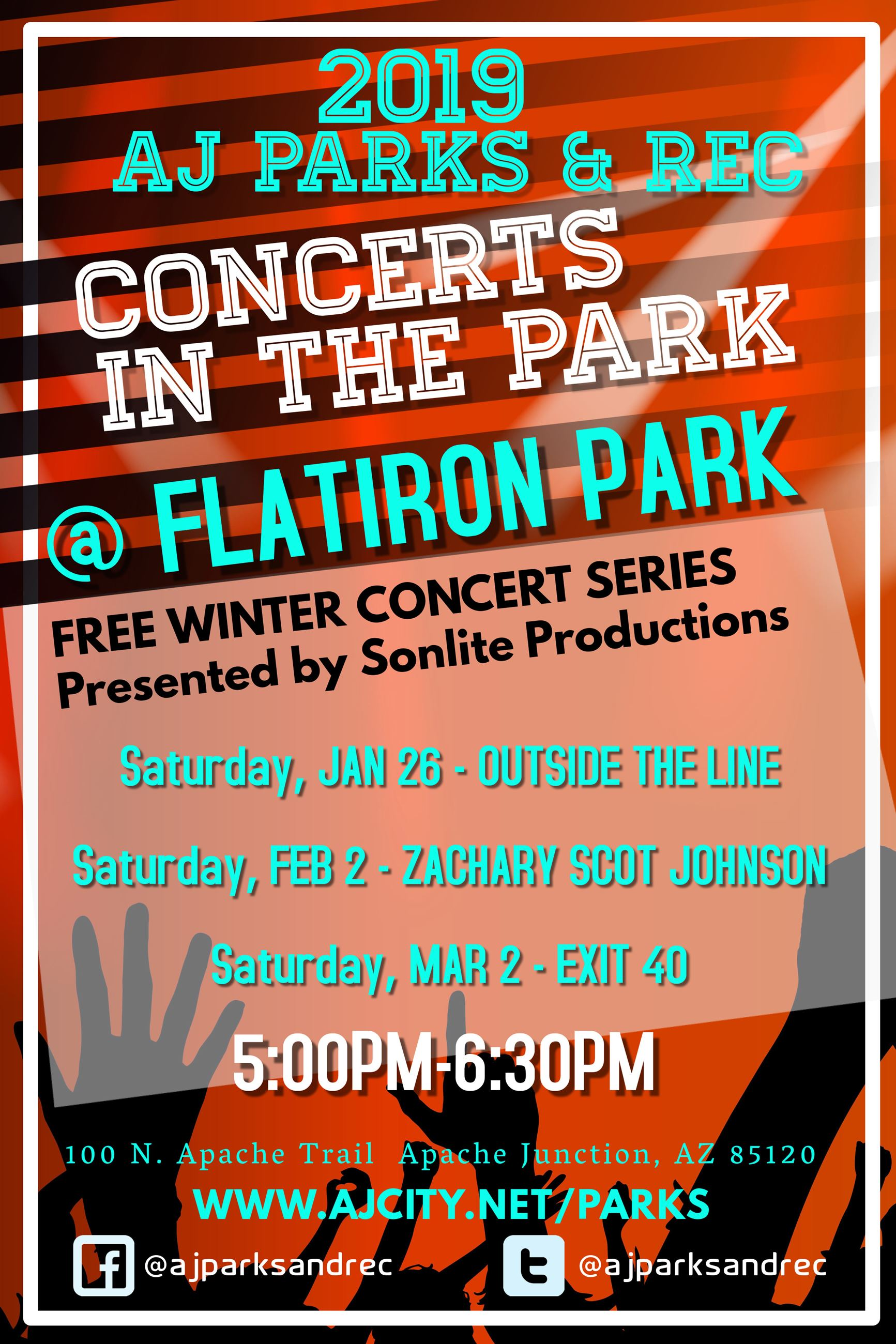 2019 Winter Concerts in the Park