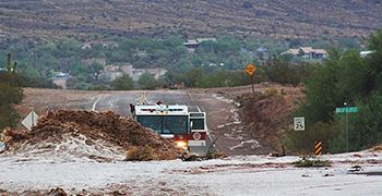 Goldfield and Lost Dutchman-flood