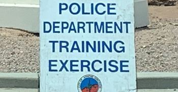 Police exercise sign-websize