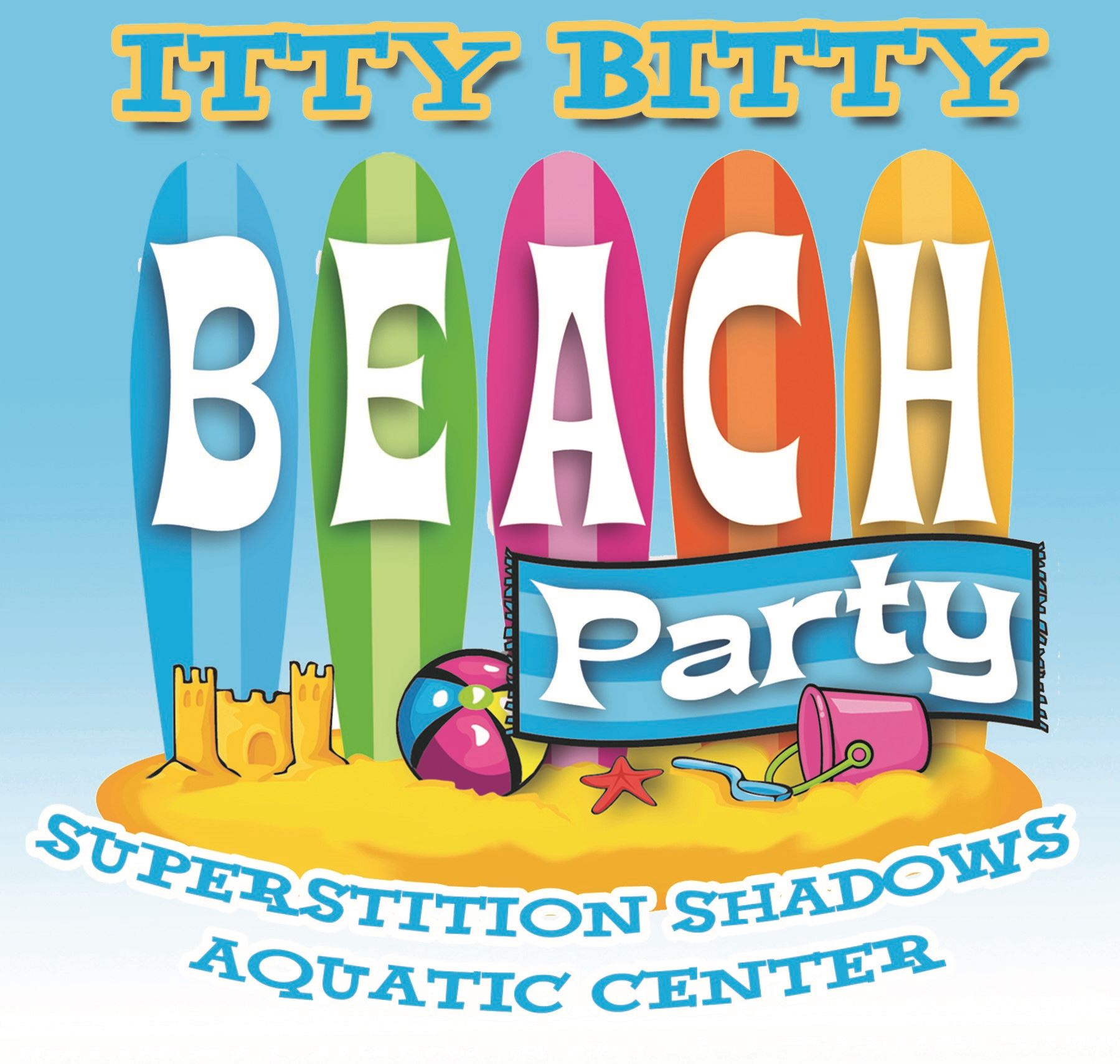 Itty Bitty Beach Party logo crop