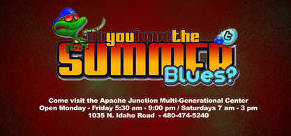 Beat the summertime blues !
